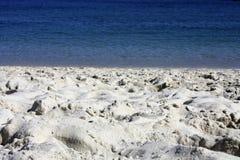 Arena Islas Cies de Playa y Foto de Stock Royalty Free