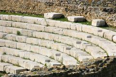 Arena in Italy. Close up of ancient arena in Italy Stock Images