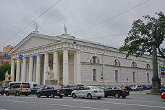 Arena of the Konnogvardeysky regiment in Saint Petersburg, Russia Stock Photos
