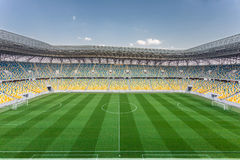 Arena Lviv stadium Royalty Free Stock Image