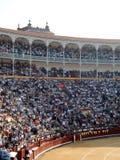 Arena met een toren Stock Afbeelding