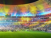 Arena multi-coloured bonita Fotografia de Stock