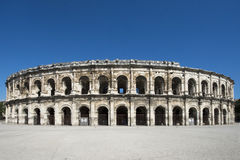 Arena of Nîmes, France Royalty Free Stock Photo