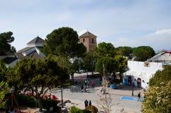 Arena nel villaggio di Mijas su Costa del Sol Spain Fotografia Stock Libera da Diritti