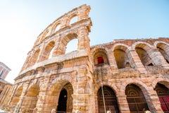 Arena nella città di Verona immagini stock libere da diritti