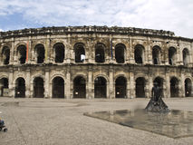 arena Nimes obrazy stock