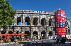 Arena of Nimes France Royalty Free Stock Photography