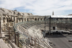 Arena of Nimes France Stock Photo