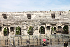 Arena of Nimes France Stock Photos