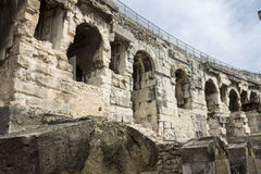 Arena of Nimes France Stock Images