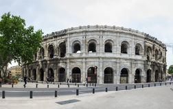 Arena of Nimes Royalty Free Stock Image