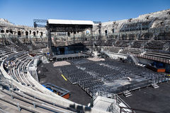 Arena of Nimes France Royalty Free Stock Photo