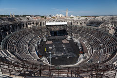 Arena of Nimes France Royalty Free Stock Photos