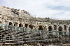 Arena of Nimes France Royalty Free Stock Image