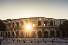 Arena of Nimes Royalty Free Stock Photography
