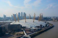 Arena O2 a Greenwich, Londra, Inghilterra Fotografie Stock
