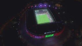 Arena Otkrytie at Night stock footage