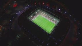 Arena Otkrytie at Night stock video footage
