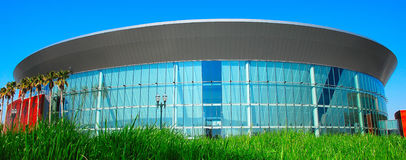 Arena of the Pacific. Sports and Entertainment Arena of the new All-American City Stock Photo