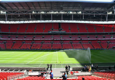 Wembley Stadium Stock Photo