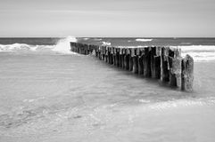 Arena, playa, mar, cielo. Imágenes de archivo libres de regalías