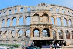 Arena Pola, Croazia Immagini Stock Libere da Diritti