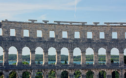 The Arena in Pula Royalty Free Stock Photography