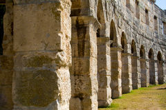 The arena in Pula Stock Images