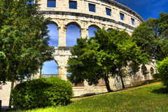 Arena in Pula Royalty Free Stock Image