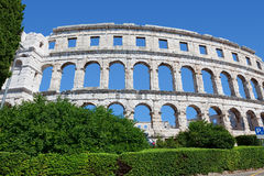 Arena Pula Royalty Free Stock Image