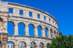 Arena Pula Stock Photo