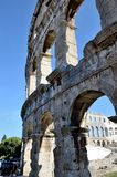 Arena of Pula, Croatia Royalty Free Stock Image