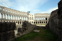 Arena Pula Croatia Stock Photos