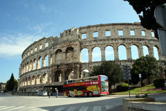 Arena Pula Croatia Stock Photography