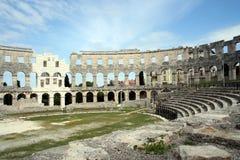 Arena Pula Kroatien Lizenzfreies Stockbild
