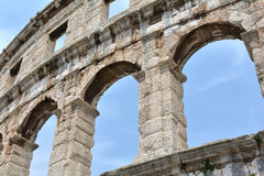 The Arena of Pula Royalty Free Stock Image
