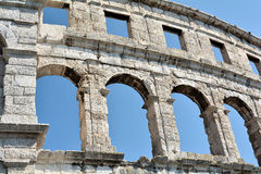 The Arena of Pula Stock Photography