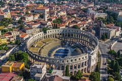 Arena Pula Royalty Free Stock Photo