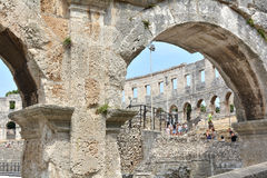 The Arena of Pula Stock Image