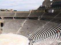 arena roman provence Arkivbilder