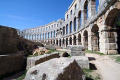 Arena romana 11 Fotos de archivo libres de regalías