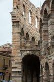 Arena romana antiga do amphitheatre em Verona, Italy imagens de stock royalty free