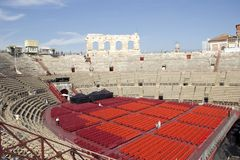 Arena romana de Verona foto de stock royalty free