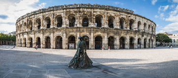 Arena romana em Arles, France Fotos de Stock Royalty Free