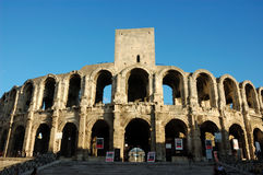 Arena romana en Arles Imágenes de archivo libres de regalías