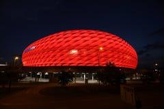 Arena rossa dell'Allianz Fotografie Stock Libere da Diritti