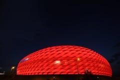 Arena rossa dell'Allianz Fotografia Stock Libera da Diritti
