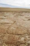 Arena seca del desierto Fotos de archivo