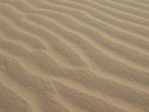 Arena sin tocar en las dunas de arena de Glamis Fotografía de archivo