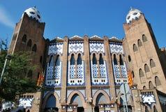 Arena for Spanish bullfighting Stock Photos